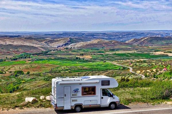 3 rutas por España en Autocaravana.