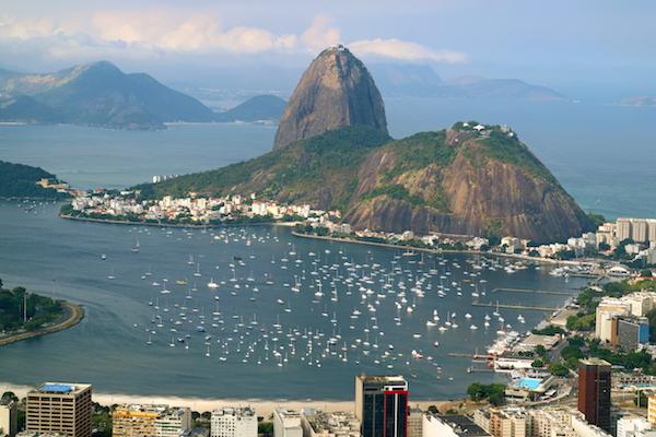 Los tres mejores destinos en Brasil